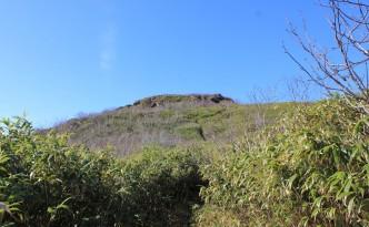 カニカン岳近景