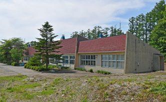 (旧)今金町立神丘小学校校舎